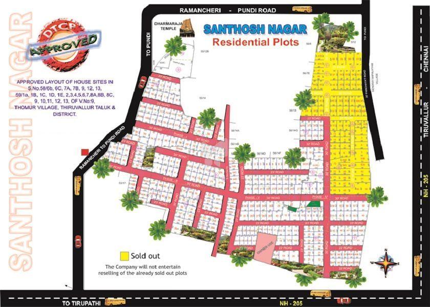 ASD Santhosh Nagar - Master Plan