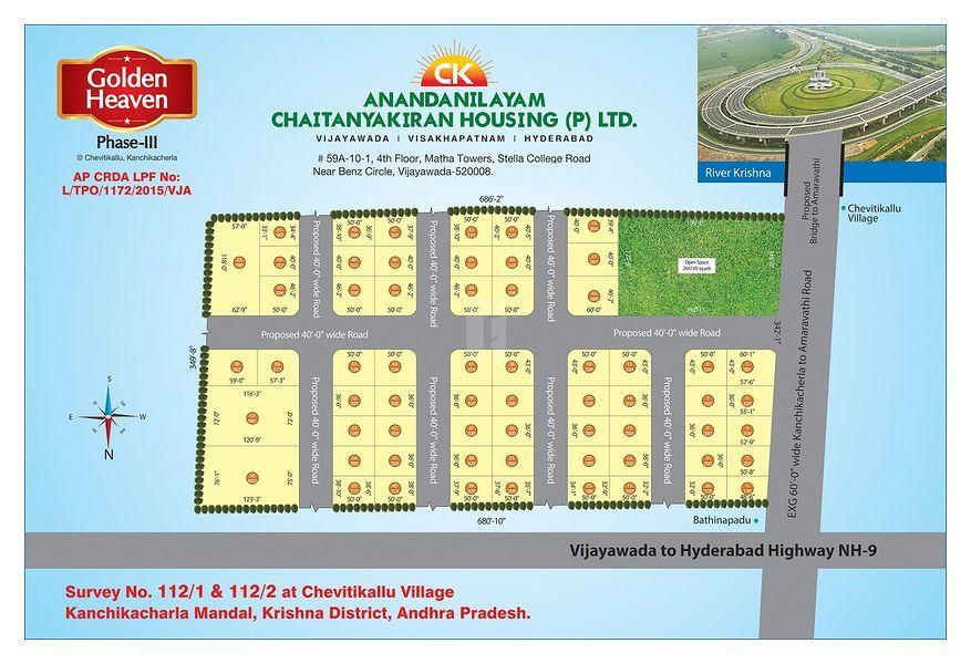 Chaitanya Golden Heaven Phase III - Master Plans