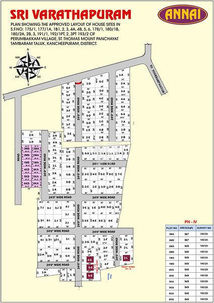Annai Sri Varadhapuram - Master Plans