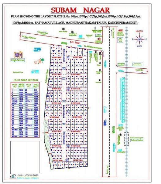 BL Subham Nagar - Master Plan