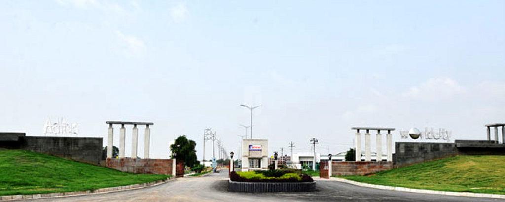 Aditya World City Plot - Project Images