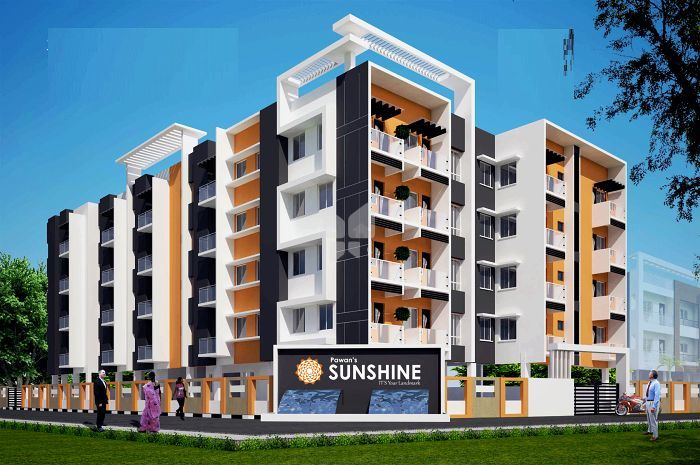 Elevation Image | Pawan Sunshine Apartment In Ambattur, Chennai