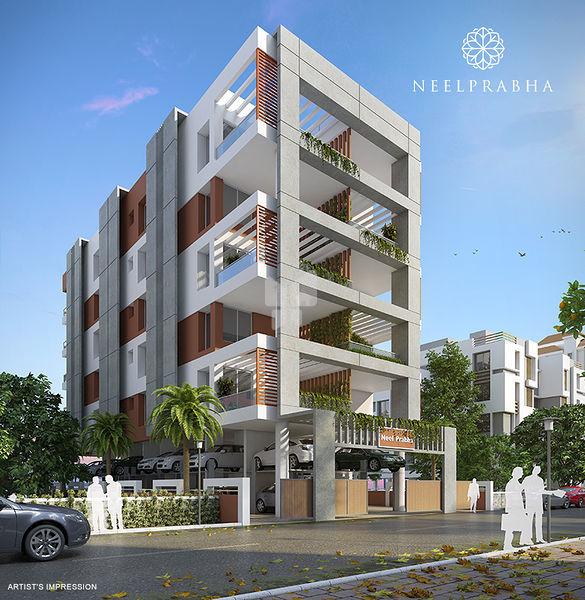 Neel Prabha Apartment - Elevation Photo