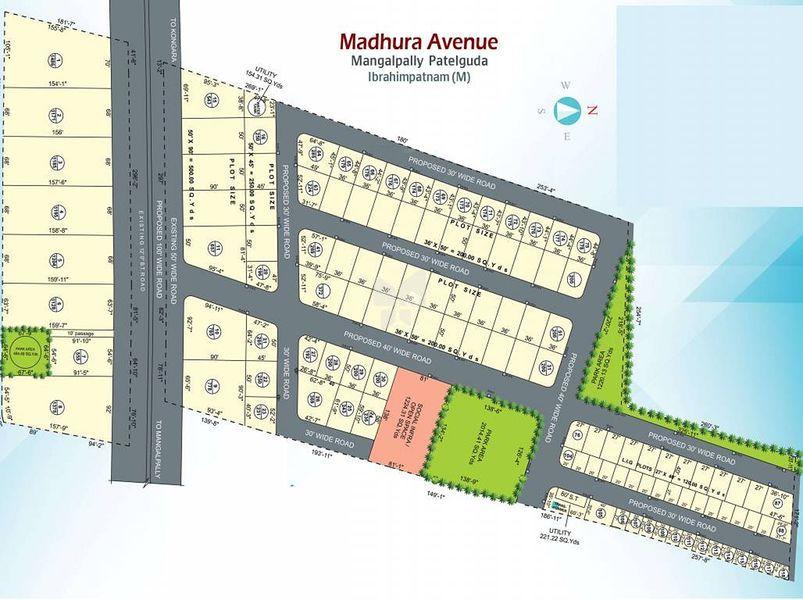 Madhu Madhura Avenue - Master Plans