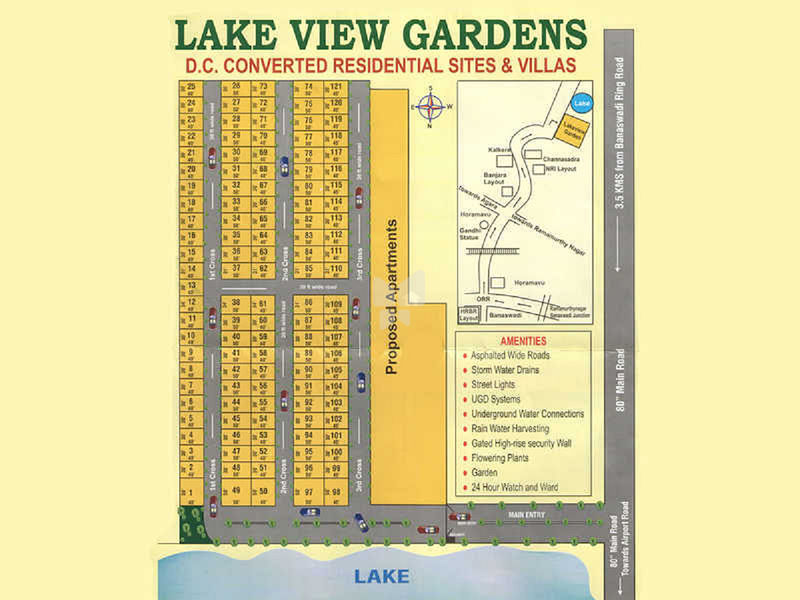 Green Garden Lake View Gardens - Master Plan