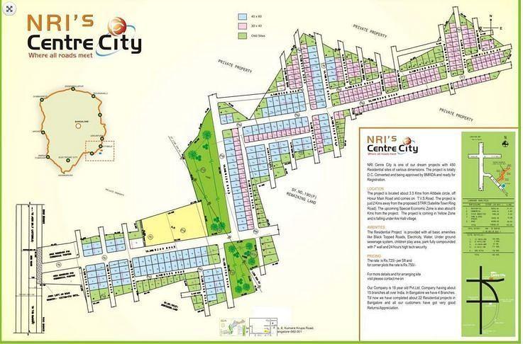 NRI Centre City - Project Images