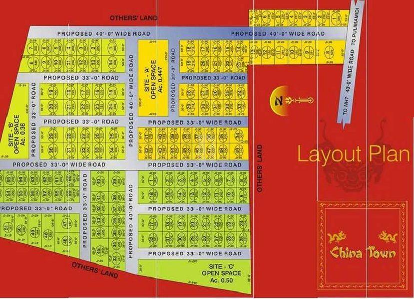 Jai Mata Di China Town - Master Plans