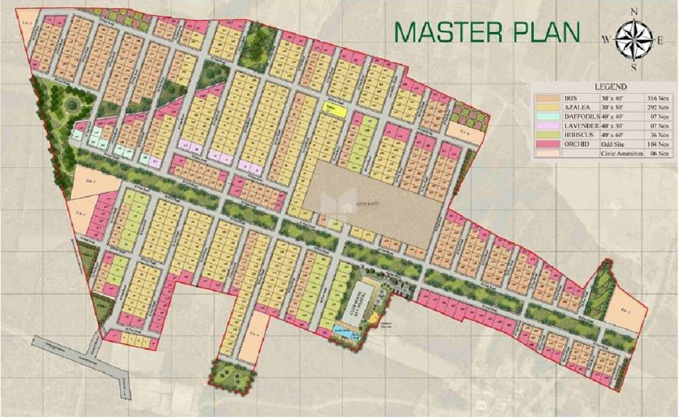 Anish Green County - Master Plan