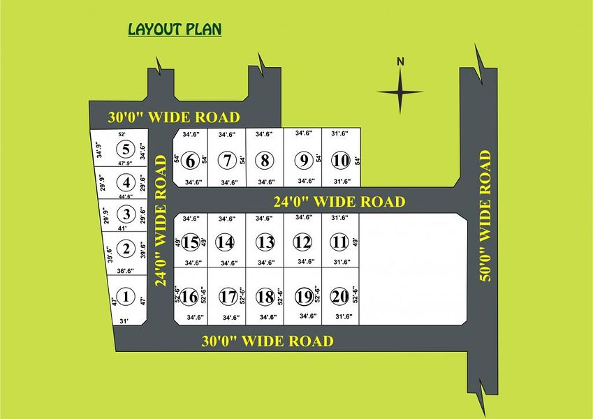 City Lands Priyanka Nagar - Master Plans