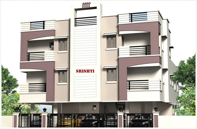 Pranava's Srishti - Elevation Photo