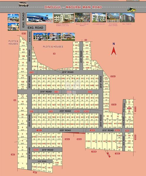 Pacific Porkudam Nagar - Master Plans