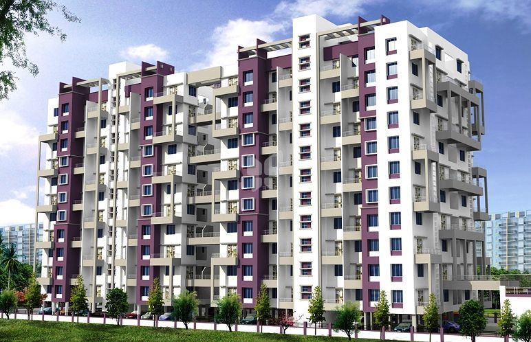 RK Lunkad Akshay Towers - Elevation Photo