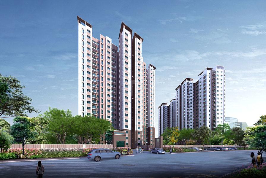 Shriram Divine City - Elevation Photo