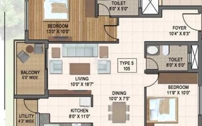 veracious-enrica-in-koramangala-1st-block-floor-plan-2d-pvn