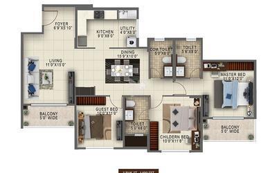 salarpuria-altana-in-nagarbhavi-floor-plan-2d-mcr