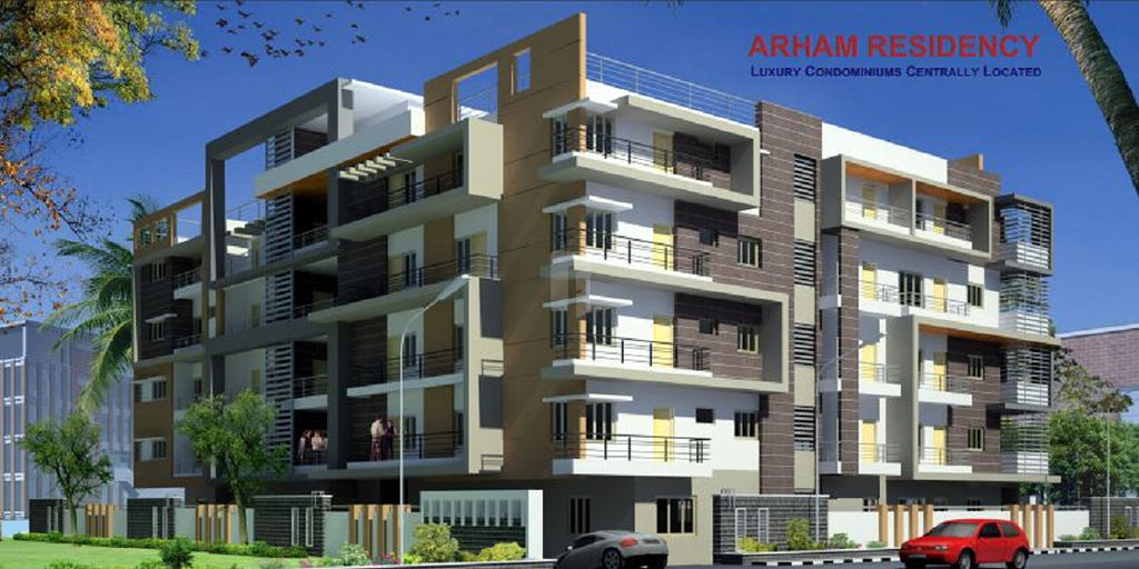 Aadidevs Arham Residency - Elevation Photo