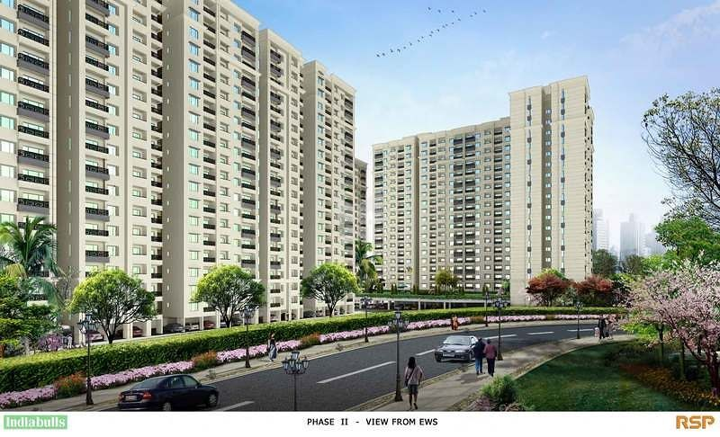 Indiabulls Greens Phase I - Elevation Photo