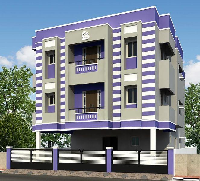 Sri raghavendra 39 s golden house in madhavaram chennai for Apartment plans chennai