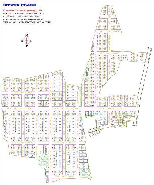 Tricolour Silver Coast - Master Plans