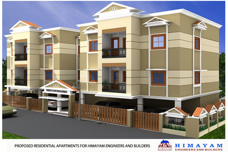 Annapoorna Apartments - Elevation Photo