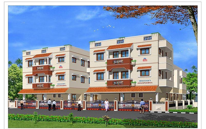 Annapoorna apartments in kolathur chennai price floor for Apartment plans chennai