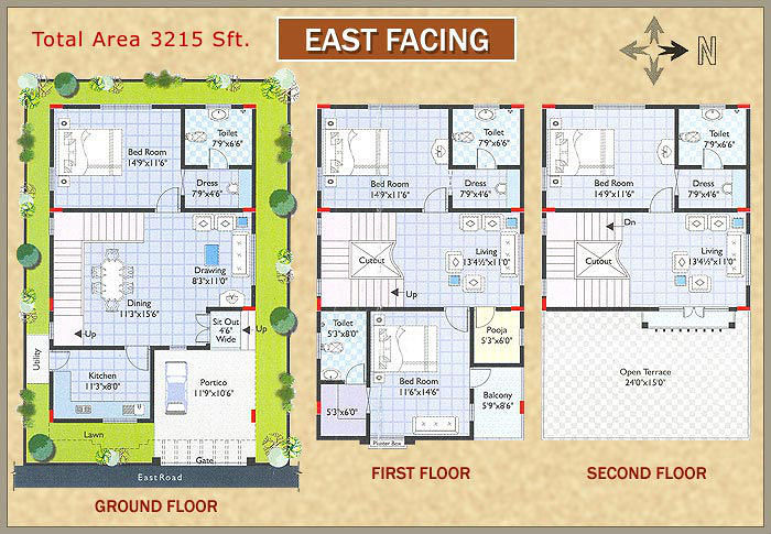 East Facing House Plans In Hyderabad List Disign