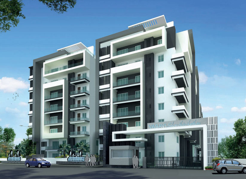 Vasavi shanthinikethan in madhapur hyderabad price for Apartment plans hyderabad