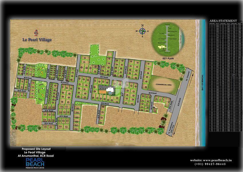 Le Pearl Village - Master Plan