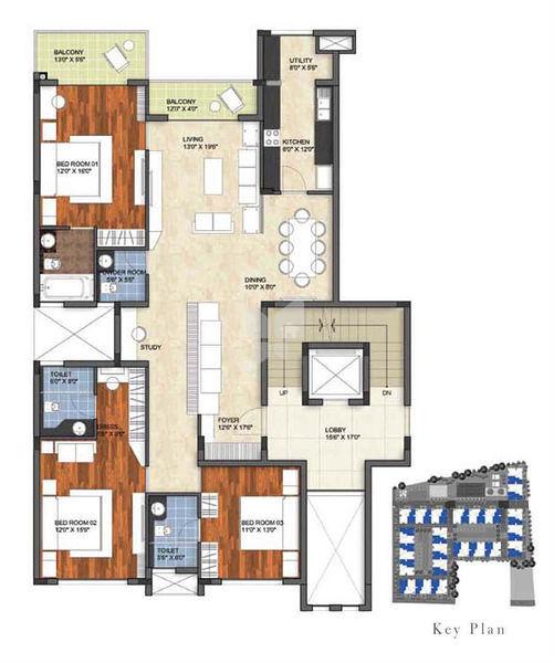 Prestige Garden Bay In Yelahanka Bangalore Price Floor Plans