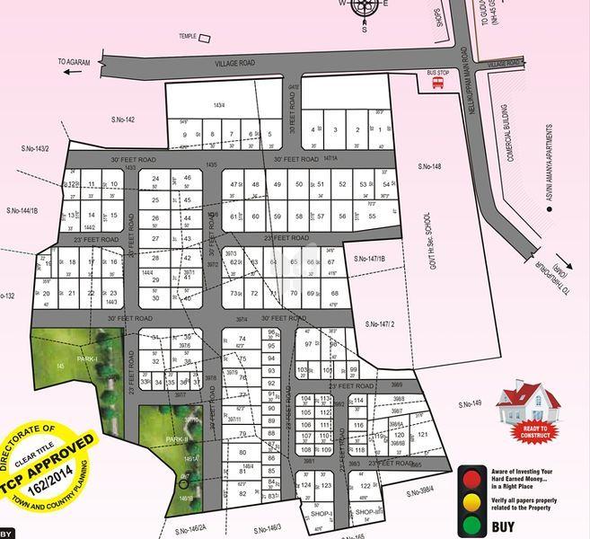 JBM Dakshin Nagar Phase I - Master Plan