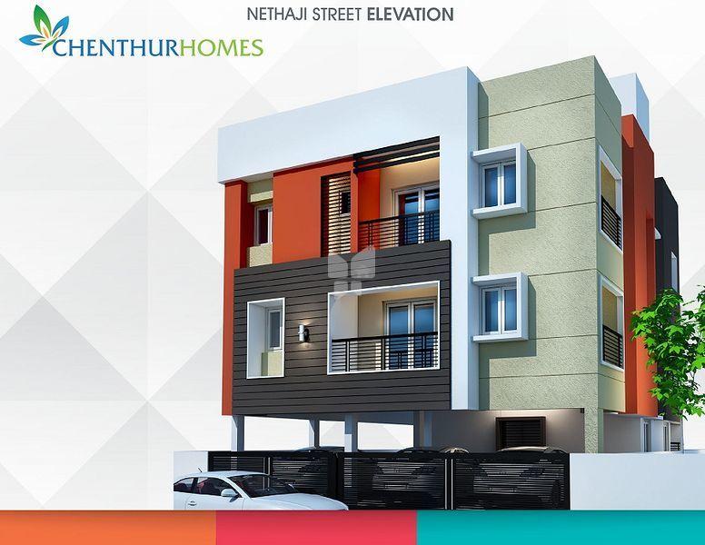 Chenthur Nethaji Street - Elevation Photo