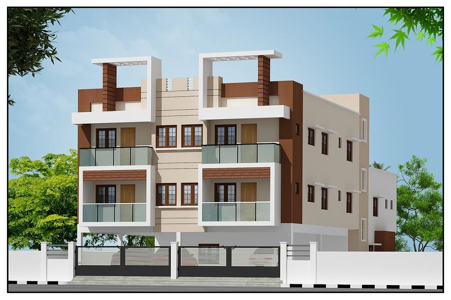 Udhayam vasantham in kk nagar chennai price floor for Indian apartment plans with elevation