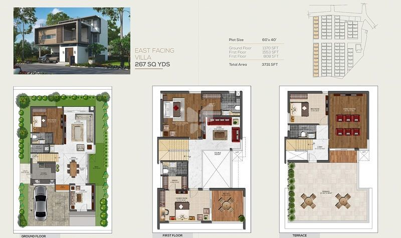 4 bhk villas in empire insignia gachibowli hyderabad by for 4 bhk villa interior design
