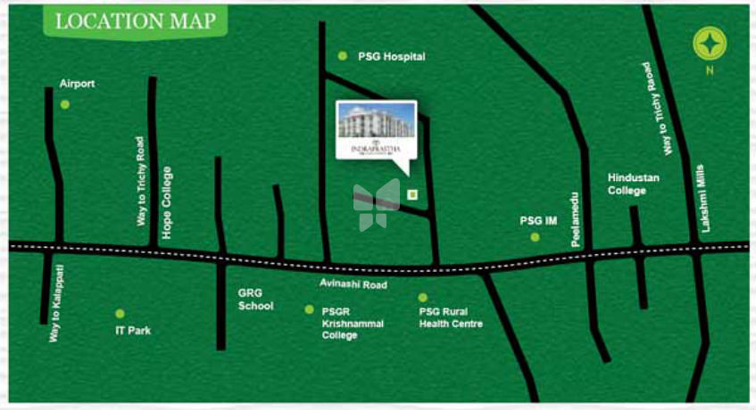 AV Properties Indraprastha in Peelamedu, Coimbatore by AV Properties  (INDIA) Pvt  Ltd - Get TruePrice, Brochure, Amenities, Price Trends and Map  on