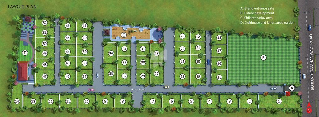 Horizon Anand Prabha - Master Plans