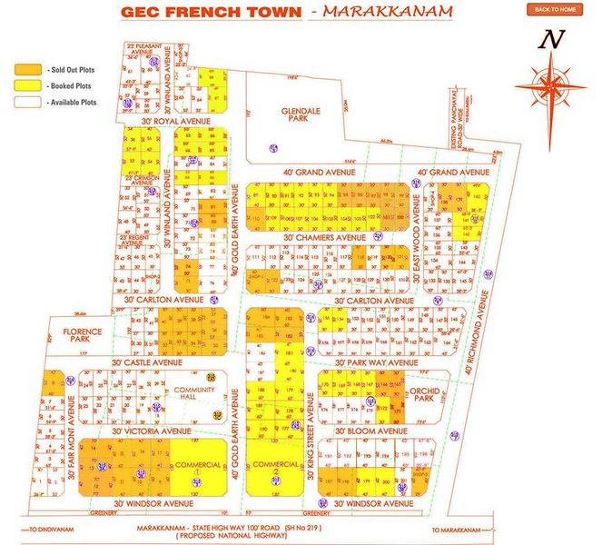 GEC French Town - Master Plans