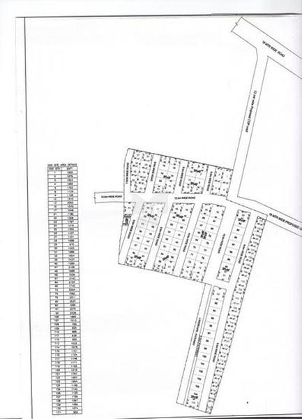 Living Space Ambriyani Lakshmi Residency - Master Plan