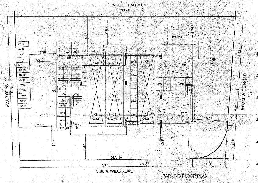 Arun Anika Laxmi Niwas - Floor plan