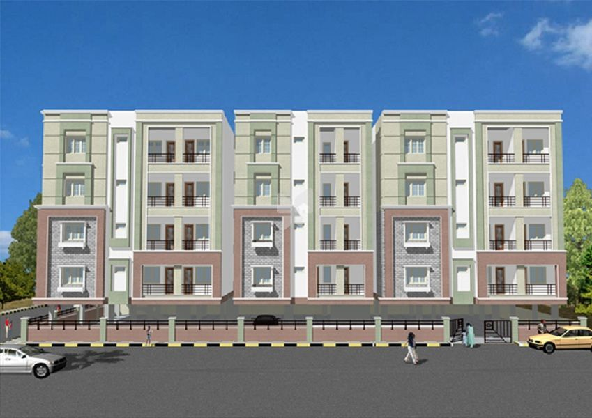 Matrix Metro Residency - Elevation Photo