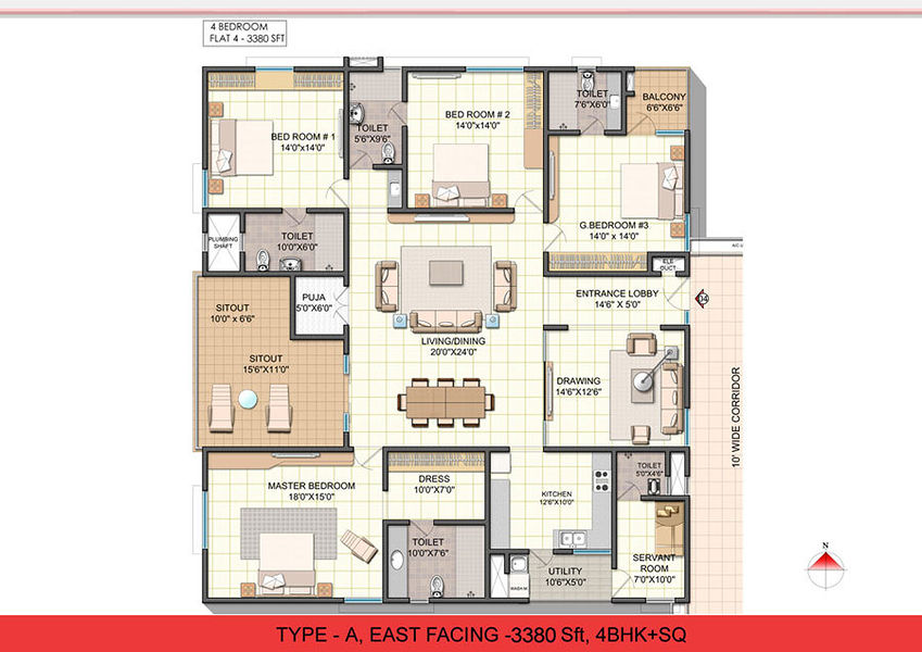 Ncc Urban One In Narsingi Hyderabad Price Floor Plans