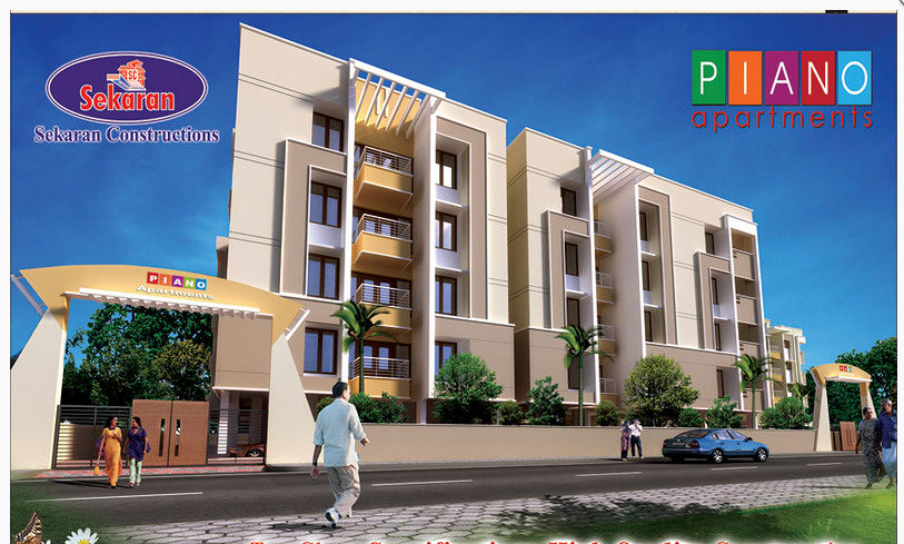 Elevation Image | Piano Apartments In Sithalapakkam, Chennai