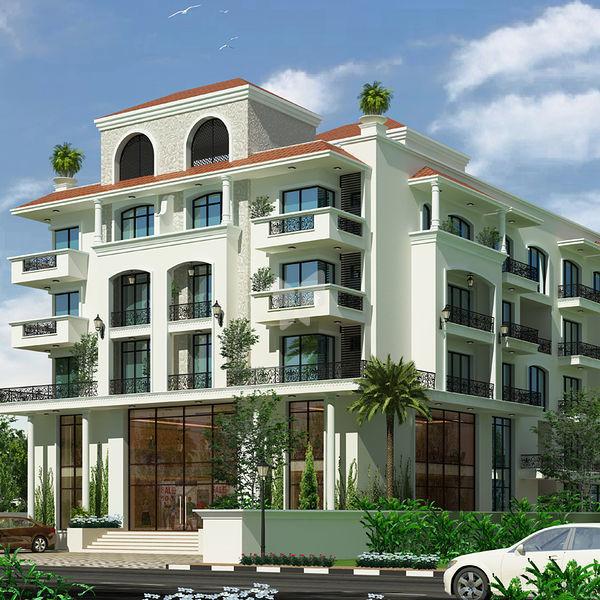 Apartment Exterior Elevation: D apartment elevation ...