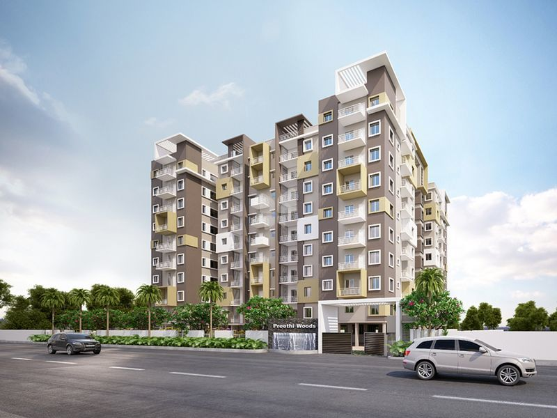RM Infra Preethi Woods - Elevation Photo