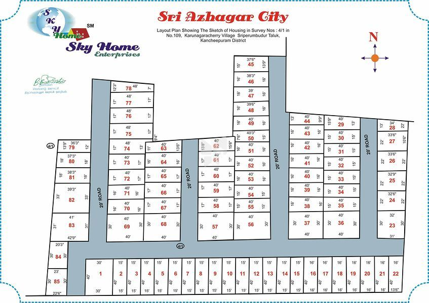 Sky Sri Azhagar City - Master Plan