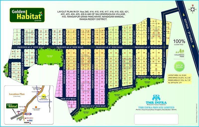 TMR Golden Habitat - Master Plans