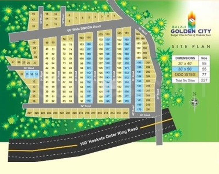 Leland Balaji Golden City - Master Plans