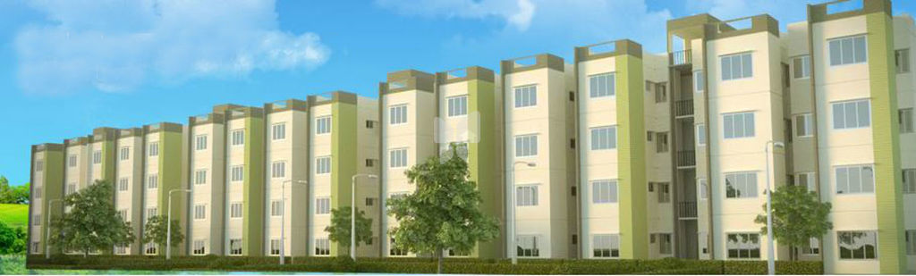 Town City Garden City Residential Apartments in Vedapatti