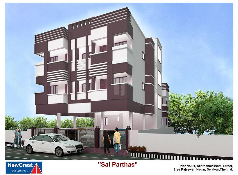 Sai Parthas - Elevation Photo