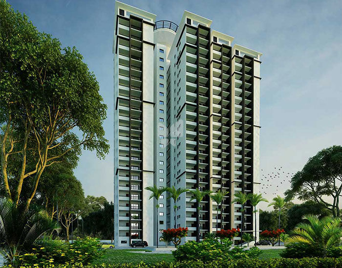 SMR Vinay Iconia - Elevation Photo