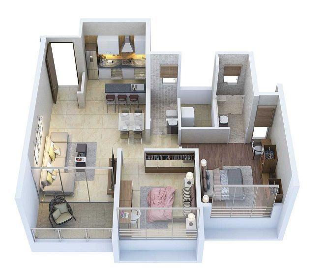 Aurum Q Residences in Ghansoli, Navi Mumbai by Aurum Ventures